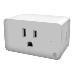 C by GE On/Off Smart Plug, White