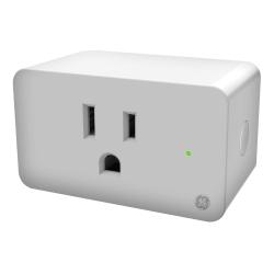 GE C On/Off Smart Plug, White