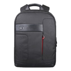 "Lenovo® NAVA Classic Backpack With 15.6"" Laptop Pocket, Black"