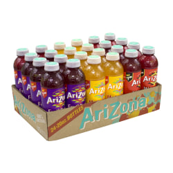 Arizona Juice Variety Pack, 20 Oz, Pack Of 24 Bottles