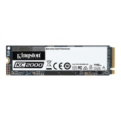 Kingston KC2000 1000 GB Solid State Drive - M.2 2280 Internal - PCI Express (PCI Express 3.0 x4) - Workstation Device Supported - 3200 MB/s Maximum Read Transfer Rate - 256-bit Encryption Standard - 5 Year Warranty