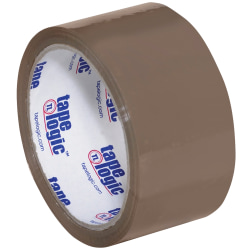 "Tape Logic® #900 Economy Tape, 2"" x 55 Yd., Tan, Case Of 36"