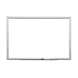 """3M™ Magnetic Dry-Erase Whiteboard, 60"""" x 372"""", Aluminum Frame With Silver Finish"""