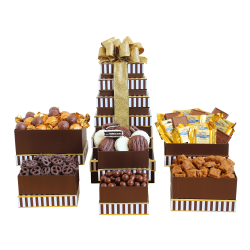Givens and Company Decadent Chocolate Gift Tower