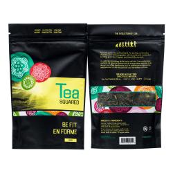 Tea Squared Be Fit Loose Leaf Tea, 2.8 Oz, Carton Of 6 Bags