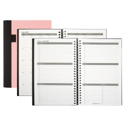 "Office Depot® Stellar Academic Weekly/Monthly Planner, 6"" x 8-1/2"", Pink, July 2020 To June 2021, ODUS1933-020"