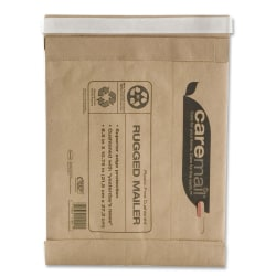 "Caremail 95% Recycled Padded Mailer, 8 1/2"" x 10 3/4"""
