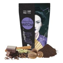 Ma-Cha Decadent Chocolate Latte Mix, 7.9 Oz, 12 Per Box, Carton Of 6 Boxes