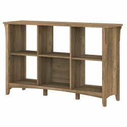 Bush Furniture Salinas 6-Cube Organizer, Reclaimed Pine, Standard Delivery