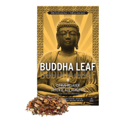 Tea Squared Buddha Citrus Relaxer Organic Loose Leaf Tea, 2.8 Oz, Carton Of 3 Bags
