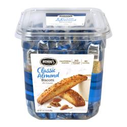 Nonni's Classic Almond Biscotti, Tub Of 25 Biscotti