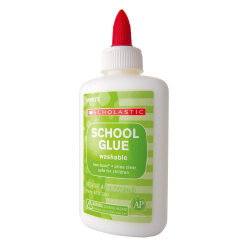 Scholastic School Glue, 4 Oz, White, Pack Of 12