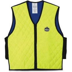 Ergodyne Chill-Its Evaporative Cooling Vest, Medium, Lime