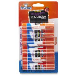 Elmer's® Washable Disappearing Purple School Glue Sticks, 0.21 Oz., Pack Of 6
