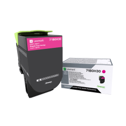 Lexmark™ 71B0H30 High-Yield Magenta Toner Cartridge