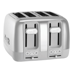 Dualit Domus 4-Slice Extra-Wide-Slot Multi-Function Toaster, Porcelain