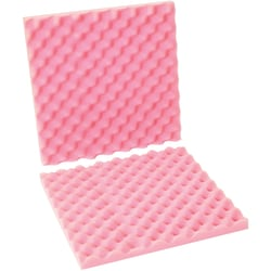 """Office Depot® Brand Antistatic Convoluted Foam Sets, 2""""H x 16""""W x 16""""D, Pink, Case Of 12"""