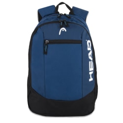 """HEAD Crosscourt Backpack With 15"""" Laptop Pocket, Navy"""