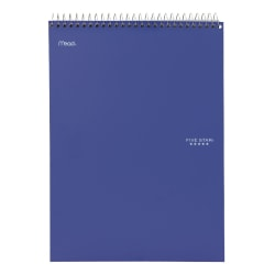 "Five Star® Notebook, 10"" x 11 1/32"", 1 Subject, College Ruled, 100 Sheets, Assorted Colors (No Color Choice)"