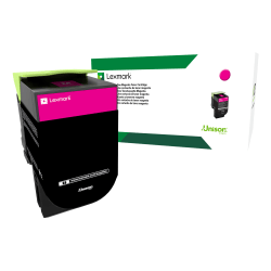 Lexmark™ 71B10M0 Return Program Magenta Toner Cartridge