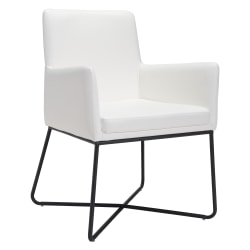 Zuo® Modern Axel Dining Chair, White/Black
