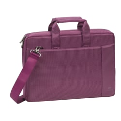 "Rivacase 8231 Laptop Bag With 15.6"" Laptop Pocket, Purple"