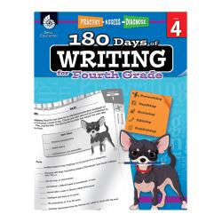 Shell Education 180 Days Of Writing Workbook, Grade 4