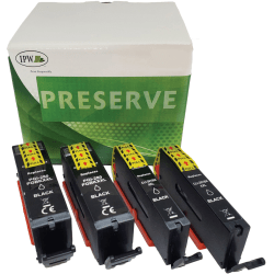 IPW Preserve Brand 280XXL/281XXL Extra-High-Yield Remanufactured Black Ink Cartridges, Pack Of 4 Cartridges