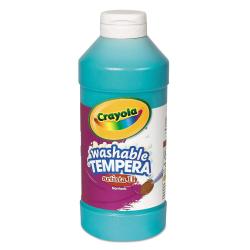 Crayola® Artista II® Tempera Paint, 16 Oz, Turquoise