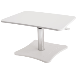"Victor High™ Rise Collection Height-Adjustable Wood Laptop Riser, 15 1/4""H x 21""W x 13""D, White"