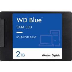 Western Digital® Blue 3D NAND 2TB Internal Hard Drive, SATA III, WDS200T2B0A