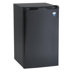 Avanti® 4.4 Cu. Ft. Compact Refrigerator With Chiller Compartment, Black