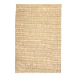 Anji Mountain Zatar Wool And Jute Rug, 2' x 3', Natural/Tan