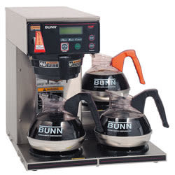 Bunn® 12-Cup Digital 3-Warmer Commercial Brewer