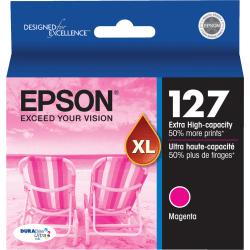 Epson® 127, (T127320-S) DuraBrite® Ultra Magenta Ink Cartridge