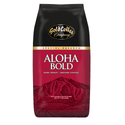 Gold Coffee Company Aloha Bold Ground Coffee, 32 Oz