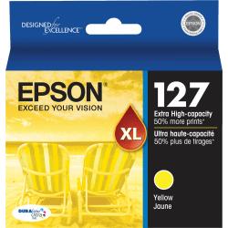 Epson® 127, (T127420-S) DuraBrite® Ultra Yellow Ink Cartridge