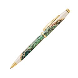 Cross® Wanderlust Ballpoint Pen, Medium Point, 1.0 mm, Borneo Barrel, Black Ink