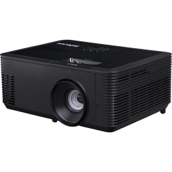 InFocus IN136 3D DLP Projector - 16:10 - Black - 1280 x 800 - Front, Ceiling - 720p - 5500 Hour Normal Mode - 10000 Hour Economy Mode - WXGA - 28,500:1 - 4000 lm - HDMI - USB
