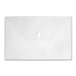 """LION Poly Project Folder, 11"""" X 17"""", Clear"""