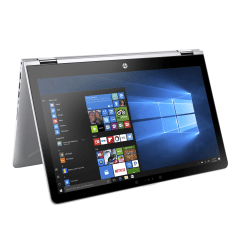 """HP Pavilion x360 15-br077nr Convertible Laptop, 15.6"""" Touch Screen, 7th Gen Intel® Core™ i5, 8GB Memory, 256GB Solid State Drive, Windows® 10 Home"""