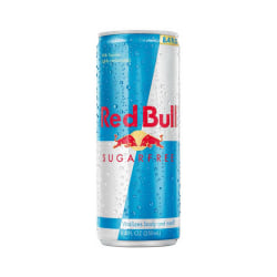 Red Bull Sugar-Free Energy Drink, 8.3 Oz, Box Of 24 Cans