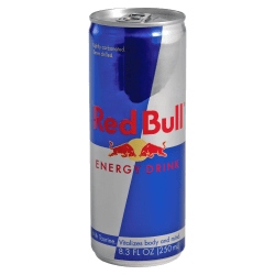 Red Bull Original Energy Drink, 8.3 Oz, Box Of 24 Cans