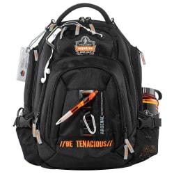 "Arsenal® 5144 Mobile Office Backpack With 15"" Laptop Pocket, Black"