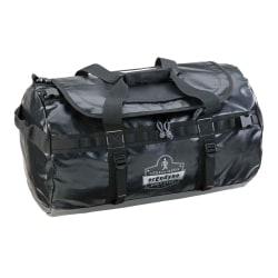 "Ergodyne Arsenal 5030S Water-Resistant Duffel Bag, 11""H x 12""W x 23-1/2""D, Black"
