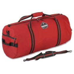 "Ergodyne Arsenal 5020L Standard Gear Duffel Bag, 14""H x 14""W x 35""D, Red"