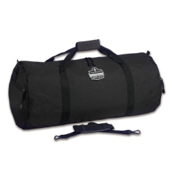 "Ergodyne Arsenal 5020S Standard Gear Duffel Bag, 12""H x 12""W x 23""D, Black"