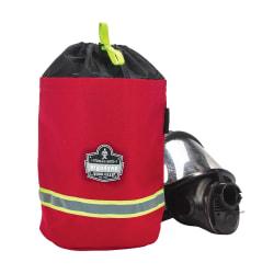 Ergodyne Arsenal 5080 SCBA Mask Bag, With Lining, Red