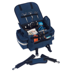 "Ergodyne Arsenal 5210 Small Trauma Bag, 7""H x 10""W x 16-1/2""D, Blue"