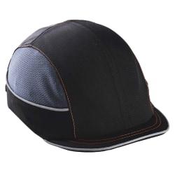 Ergodyne Skullerz Bump Cap, Micro Brim, Black, 8950